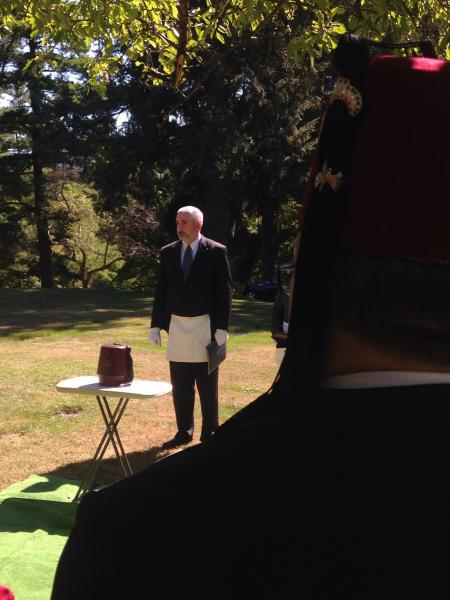 Burial Service for W∴ Peter Yanalavitch